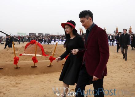 范冰冰、冯绍峰、张国立等空降郑州