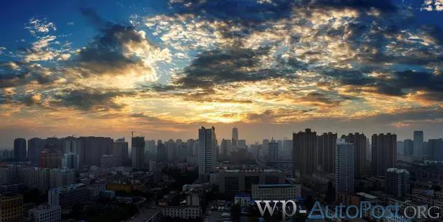 郑州的颜值有多高 简直美哭了!