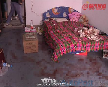 太吓人了!郑州一小伙睡梦中被盗贼砍醒