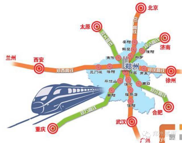 高铁对于河南到底有多重要?各条线路进展如何?