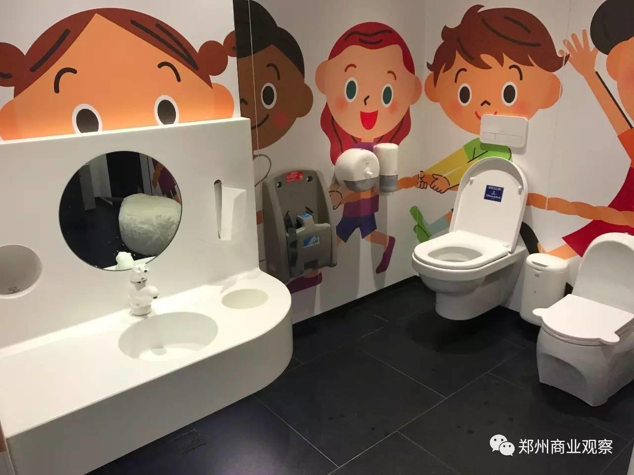 商场拼体验,从厕所开始!!